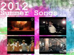 2012 summer songs buncee