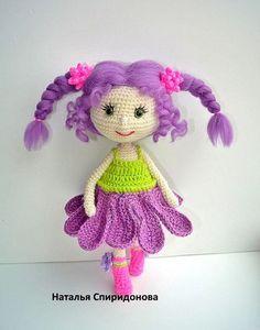 Вязаные куклы крючком.