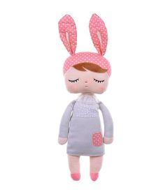 Metoo Bunny Doll - Light Grey ǀ minideco.co.uk