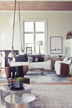 sweden / living room / clean and bright