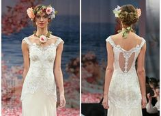 Another Claire Pettibone beautiful gown. Again, the detailing on the back is stunning