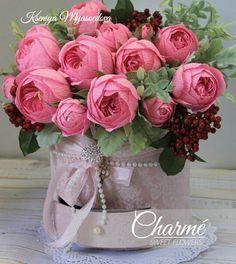 Новости Crepe Paper Flowers, Felt Flowers, Diy Flowers, Flower Decorations, Bouquet Wrap, Paper Bouquet, Flower Box Gift, Flower Boxes, Diy And Crafts