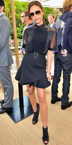 Look of the Day - October 26, 2013 - Victoria Beckham in Victoria Beckham from #InStyle