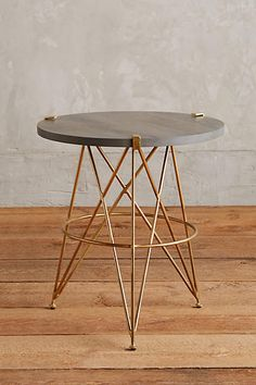 Betelline Side Table - anthropologie.com