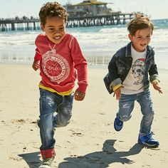 Sunshine and playtime. New Replay & Sons looks are on their way. #replay #replayjeans #replayandsons