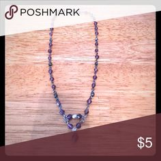 ⭐️⭐️ dark purple and silver beaded necklace ⭐️⭐️ All jewelry marked ⭐️⭐️ buy one get one free! Bundle the items you want and offer the price of the highest price item! Jewelry Necklaces