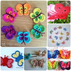 These lovely butterflies are easy crochet even for beginner. You can make some as decoration for headband or clothes etc. Click below link for translated version tutorial. DIY Simply Crochet Butterfly  Free pattern–>Bountiful Butterflies Free Pattern–>Crochet 3D Butterflies Free pattern –> Crochet Butterfly Bobby Pins Free pattern–>Delicate Crochet Butterfly Free Pattern–>Crochet …