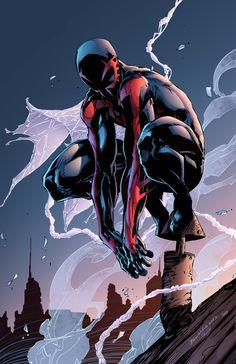 Spider-man 2099 by J-Skipper____!!!!