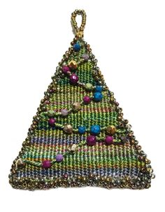 Holiday Tree Tapestry Ornament
