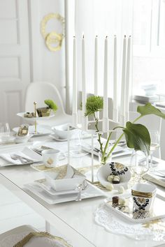 Ladies Night Table Setting, KAHLA Porcelain http://www.kahlaporzellan.com | Foto: Ulrike Holsten, Styling: Isa Schmidt
