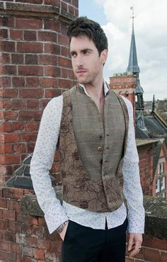 Mens waistcoat by CalleciaJBrown on Etsy, £100.00