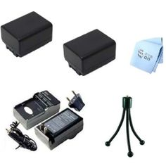 SAVEoN Extended Life Two Canon BP-718 Replacement Battery Packs + AC/DC Rapid Battery Charger Kit + SAVEoN MicroFiber Cleaning Cloth for VIXIA HF R300 Full HD Camcorder - http://yourperfectcamera.com/saveon-extended-life-two-canon-bp-718-replacement-battery-packs-acdc-rapid-battery-charger-kit-saveon-microfiber-cleaning-cloth-for-vixia-hf-r300-full-hd-camcorder-2/