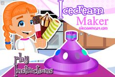 Want to make Ice cream at your home? Now you can play this Ice cream maker 4 game and learn how to make Ice cream. A Fun game for girls. Cooking Games For Girls, Fun Games For Girls, Love Ice Cream, Ice Cream Maker, Android, Free Download, Real Simple, Online Games, More Fun