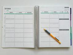 We Teach Music: My Teacher Planner - Plum Paper Planner for Teacher Lesson Plans