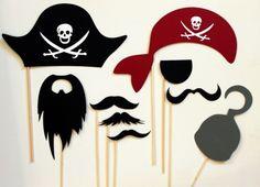 аксессуары для пиратской фотосессии