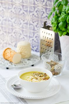 Zupa krem z pora - przepis Healthy Recipes, Healthy Food, Cereal, Good Food, Dinner Recipes, Snacks, Breakfast, House, Cooking Recipes