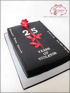 VIOLATOR CAKE (Depeche Mode)  - Cake by Agatha Rogowska ( Cakefield Avenue)