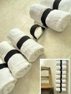 Držák na čisté ručníky