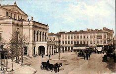 Teatrul Național și Casa Torok, ambele dispărute.