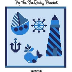 Looking for your next project? You're going to love By the Sea Baby Blanket crochet graph by designer CrochetInfinity. #crochet  #crochetgraph  #graphghan   #crochetpattern #afghan #crochetinfinity