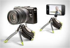 Gerber mini tool and camera tripod. #photography