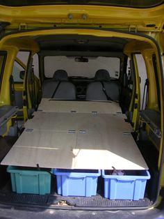caravan ideas 177962622761632707 - dormir dans un Kangoo Source by Auto Camping, Minivan Camping, Truck Bed Camping, Truck Tent, Camping Hacks, Minivan Camper Conversion, Suv Camper, Mini Camper, Camper Life