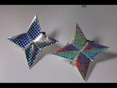 簡単折り紙 星さま - YouTube