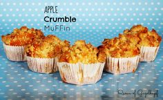 Apple Crumble Muffins, Charlotte, Queen, Baking, Breakfast, Food, Ring Cake, Morning Coffee, Bakken