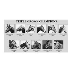 Triple Crown Champions
