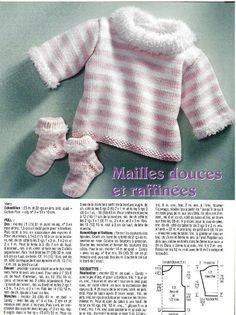 Albums archivés Tricot Baby, Cardigan Bebe, Pull Bebe, Baby Sweaters, Baby Knitting, Knitted Baby, Pulls, 9 And 10, Pullover