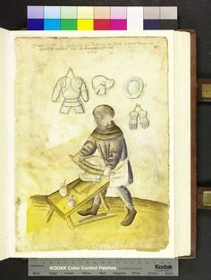 Amb. 317.2° Folio 87 recto 1500s: Crafts and trades, Germany