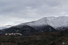Snow in the mountain