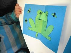 pop-up grenouille