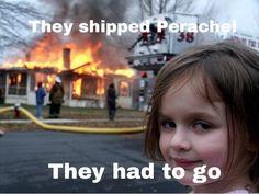 NEVER EVER SHIP PERACHEL