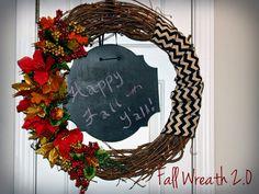 Castle Diy: Fall Wreath 2.0