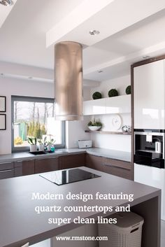 Modern Design Featuring Quartz Countertops And Super Clean Lines