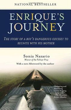 Based on the Los Angeles Times newspaper series that won two Pulitzer Prizes, one for feature writing and another for feature photography, Enrique's Journey is the timeless story of families torn apart, the yearning to be together again, and a boy who will risk his life to find the mother he loves..  - Amazon.com