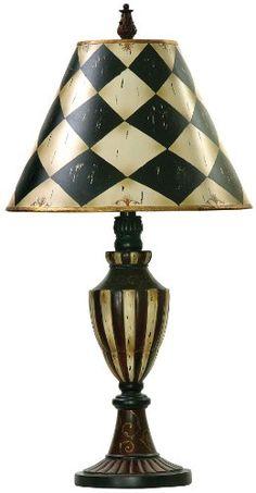 Harlequin Shades w Stripe Urn Lamp in Black & White Finish Sterling http://www.amazon.com/dp/B004OCWBJ8/ref=cm_sw_r_pi_dp_bf1Dwb0RF3N8Z