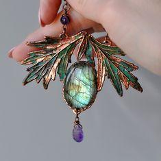 Wedding Jewelry, Diy Jewelry, Jewelry Accessories, Handmade Jewelry, Jewelry Making, Fall Jewelry, Jewelry Ideas, Crystal Jewelry, Gemstone Jewelry