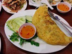 Ban Xeo: Tây Đô, Kingsland Road Vietnamese Kingsland Road, London Food, Favorite Recipes, Buttons, Eat, Ethnic Recipes