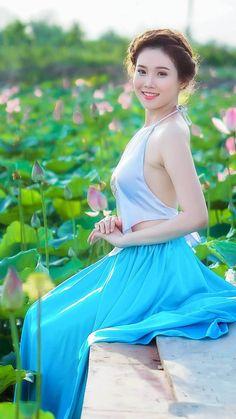 Belleza vietnamita.
