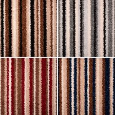 Fab Stripe Twist Felt Backed Carpet | Buy Stain Safe Twilight Hard wearing Pile Carpet Online | OnlineCarpets.co.uk