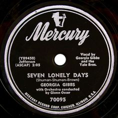 Mercury vintage record label by SCVHA, via Flickr