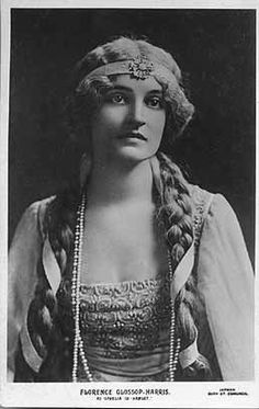 Florence Glossip Harris as Ophelia in Hamlet The publisher of the card is Jarman, Bury