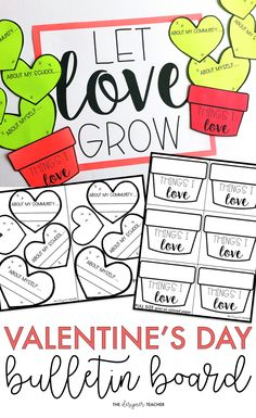 Create an an adorable cactus Valentines Day bulletin board display while encouraging students to reflect on the things they love. Includes a craftivity version and low prep version with tons of different options! Kindness Activities, Valentines Day Activities, Valentines Day Party, Valentines Day Decorations, Holiday Activities, Valentine Day Crafts, Love Valentines, Writing Activities, Science Valentines