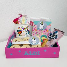 Chocolate Treats, Toy Chest, Lunch Box, Pastel, 2ne1, Crafting, Gifts, Diy, Blog
