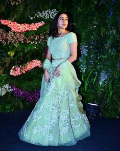 Buy From Here:- call or Whatsapp us Here:- 83479 Bollywood Stars, Bollywood Fashion, Bollywood Actress, Organizer Box, Indian Designer Suits, Sara Ali Khan, Indian Lehenga, Half Saree, Celebrity Look