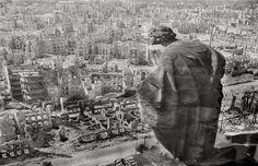 1945. Dresde, Alemania tras el bombardeo aliado
