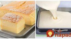 Kúzelný vanilkový koláč: Nemusíte riešiť plnky ani zložité krémy, tento koláčik je sladký zázrak! Cake Recipes, Dessert Recipes, Desserts, Tapas, Paleo, Shortbread, Vanilla Cake, Food And Drink, Cooking Recipes