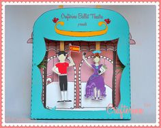 Flamenco Puppet Theater Printable PDF Kit  DIY Craft by Crafterina, $4.50  www.Crafterina.Etsy.com